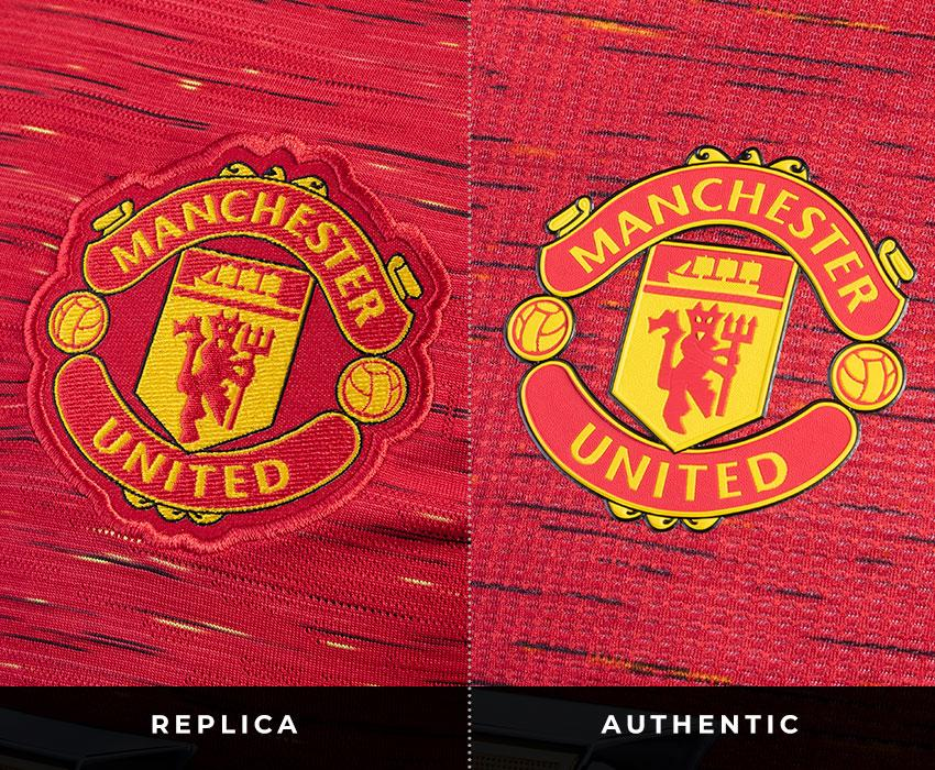 Manchester United Crest Differences Across Replica and Authentic Jerseys