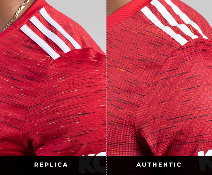 Manchester United jersey differences