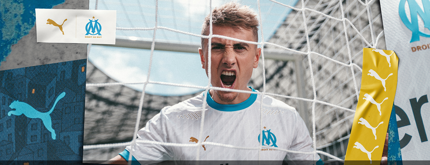 Olympique Marseille Home Jersey