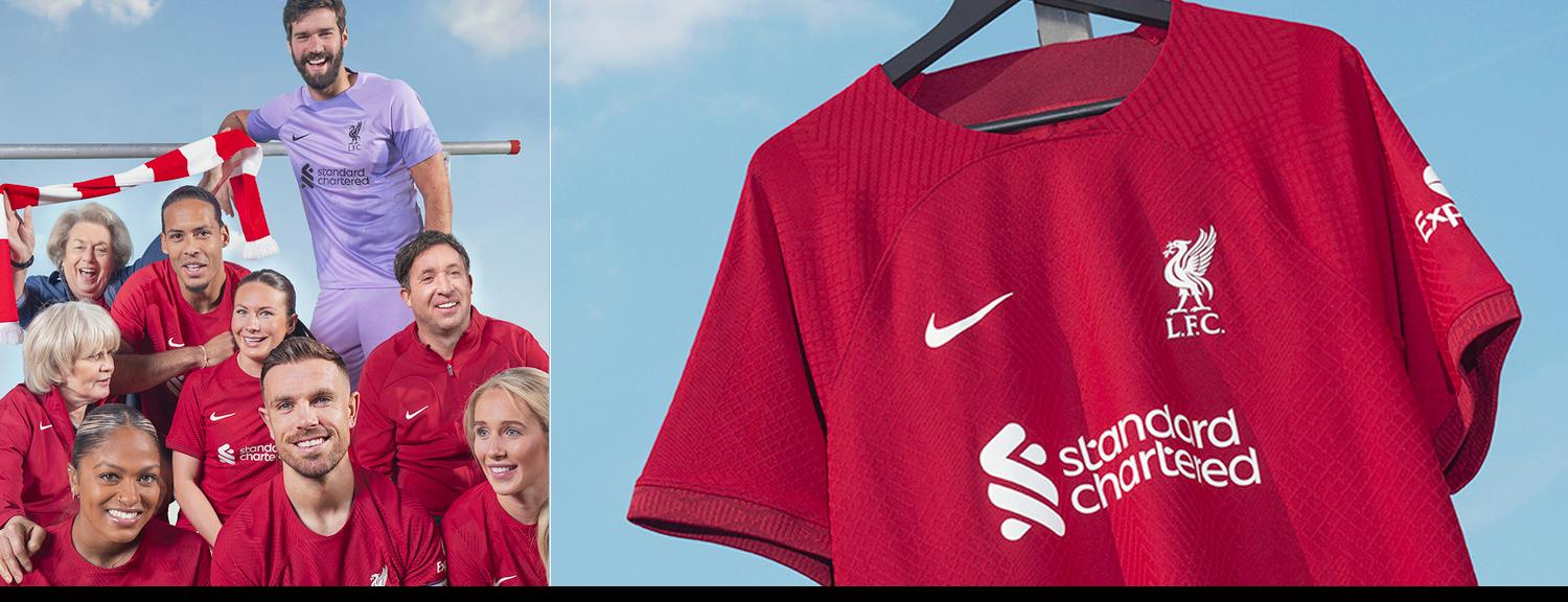 Shop Official Liverpool FC Kits and Apparel