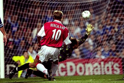 Dennis Bergkamp created in the number 10 jersey at arsenal