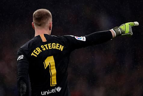 Ter Stegen wears a traditional goalkeepers number at Barcelona - 1