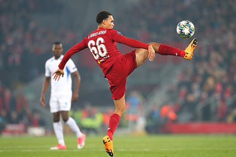 liverpool's trent alexander-arnold never left his 66 shirt after getting it as a kid