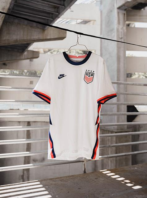 usa home jersey hanging