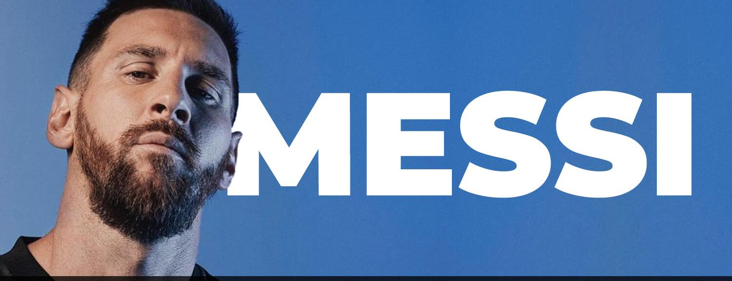 Official Leo Messi Jersey Word Soccer Shop