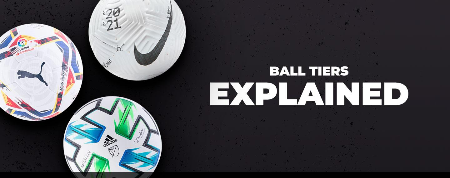 Worldsoccershop explains the details behind top brand's soccer ball tiers