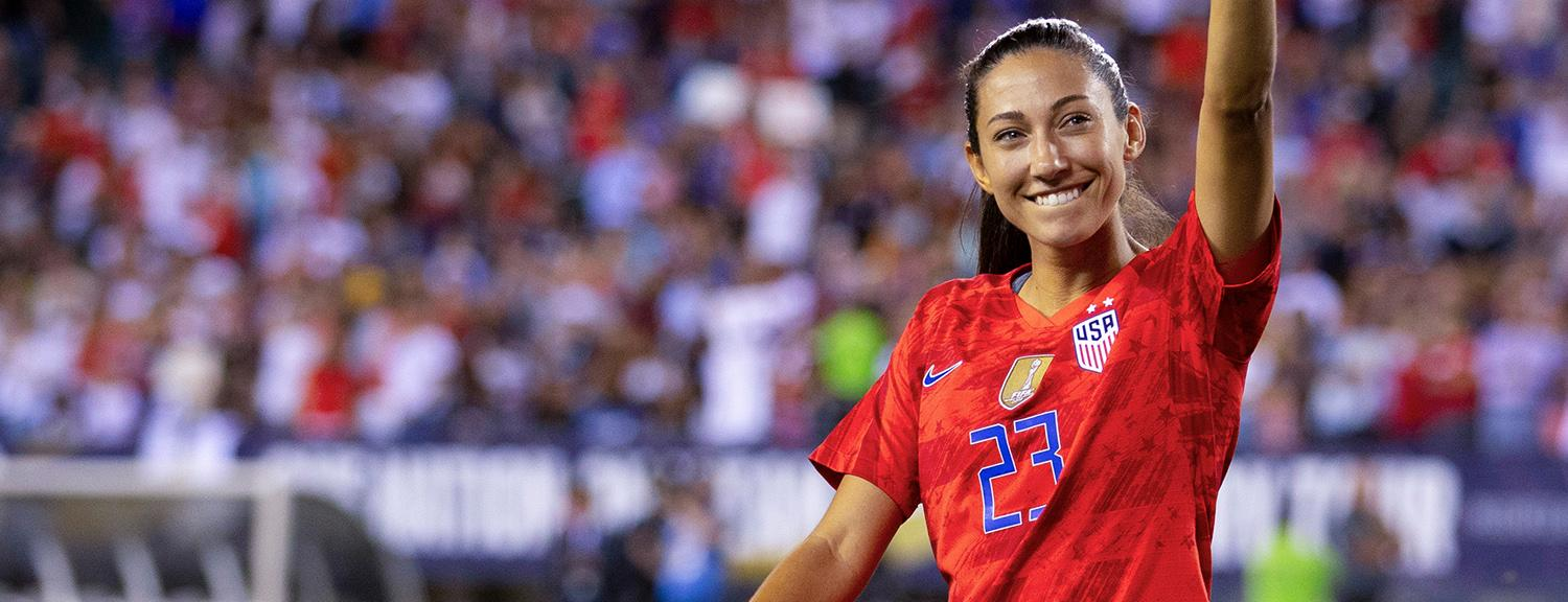 Christen Press Soccer Jersey