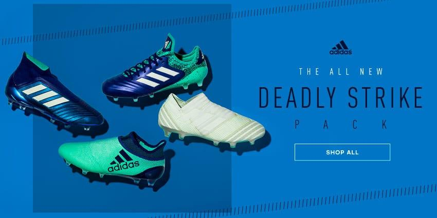 reputable site a5597 080e3 adidas Deadly Strike Soccer Cleats