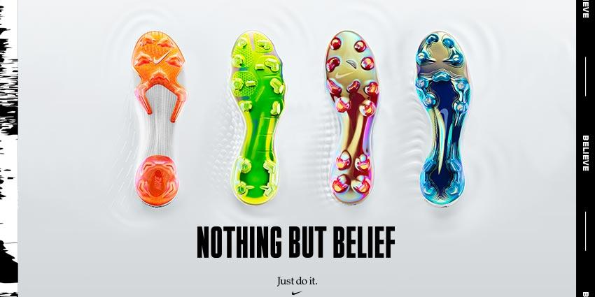 Nike Just Do It Soccer Cleats