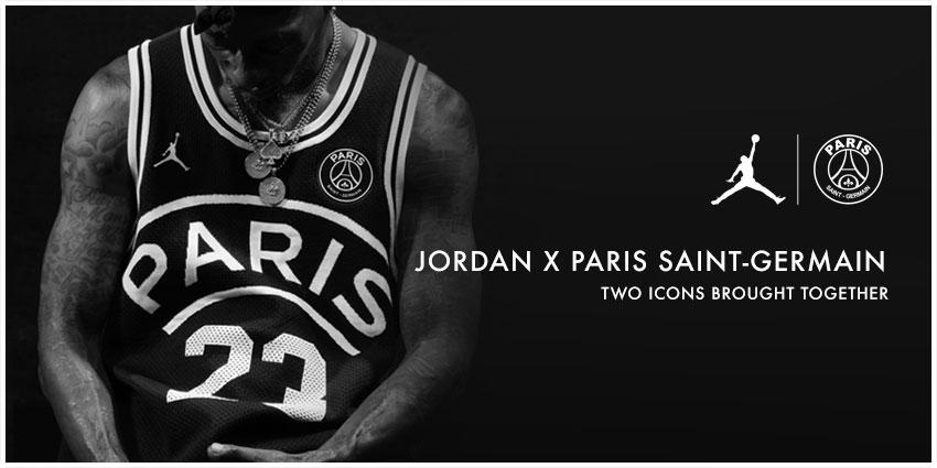 PSG X Jordan Collection