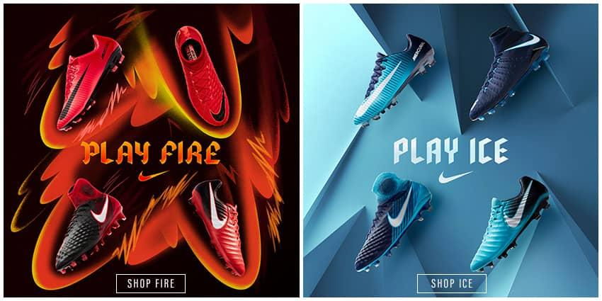 Nike Fire and Ice Soccer Cleats