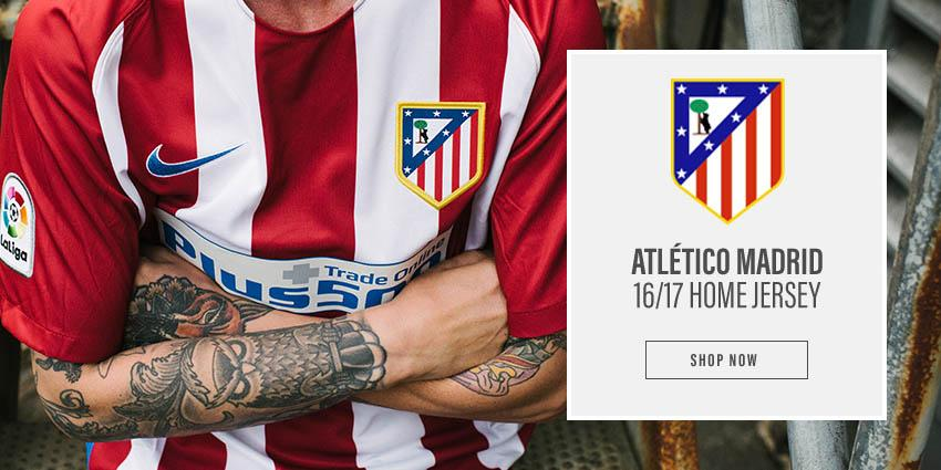 Shop Atletico Madrid 16/17 Home Jersey