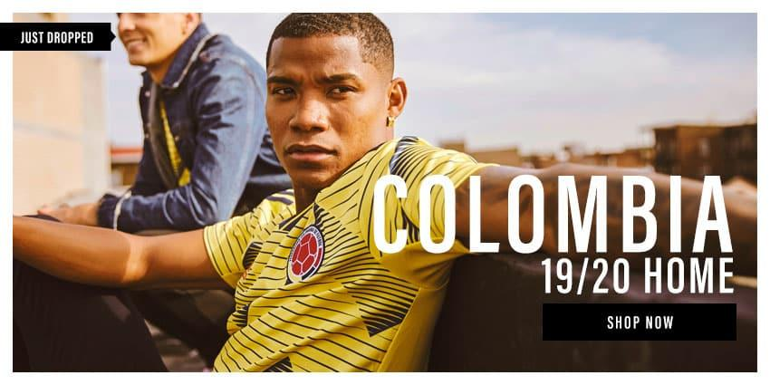 19/20 Colombia Home Jerseys