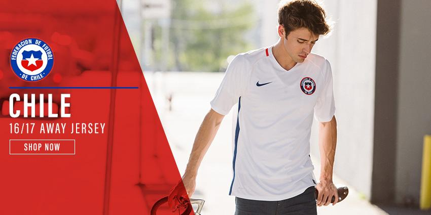 Chile Home Jersey
