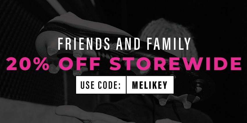 Friends and  Family 20% off store
