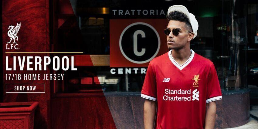 Liverpool Home Jersey