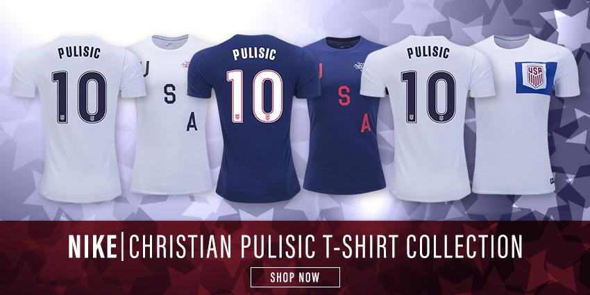 Pulisic USA Tees