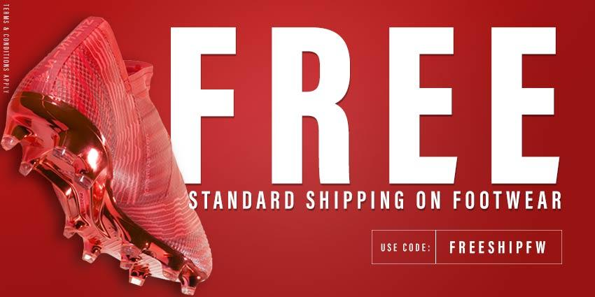 Free Shipping Offer on Footwear