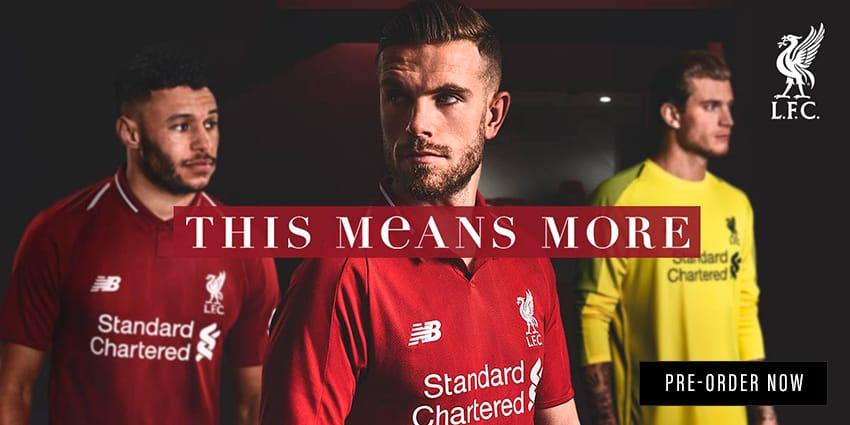 Liverpool 18/19 Home Jersey